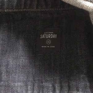 kate spade Jackets & Coats - Kate spade Saturday xs jean jacket like new!!!